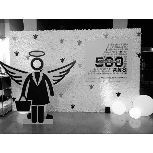 2016 - 500 ANS POUR LES COMMERCANTS